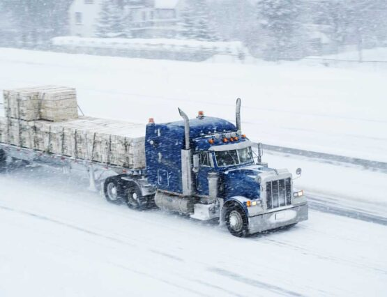 Important Winter Safety Suggestions for Truck Drivers